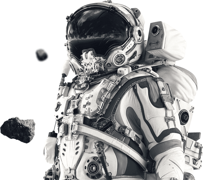 Dilate Digital Footer Astronaut Image